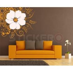 Floare abstracta - sticker...