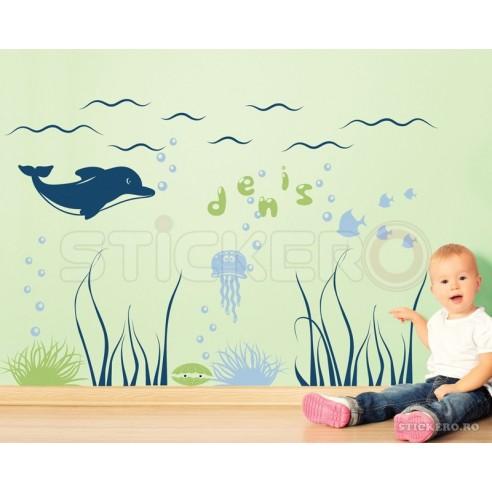 Lumea marina cu numele copilului