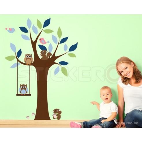 Copacelul din padure - stickere...
