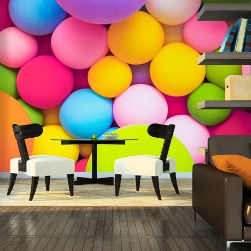 Fototapet  Colourful Balls