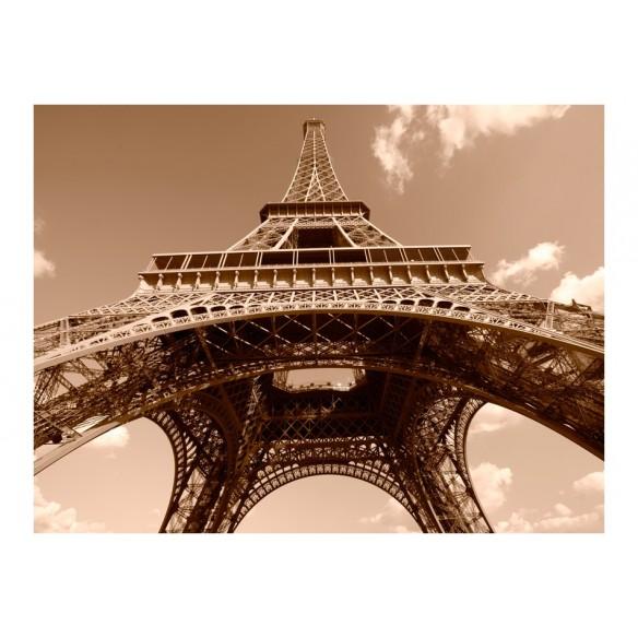Fototapet  Eiffel Tower in sepia