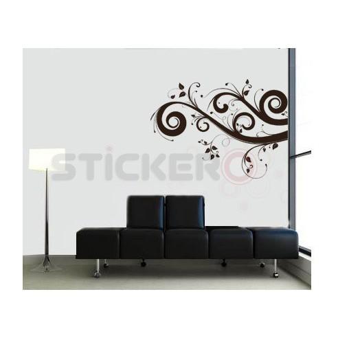Sticker decorativ Yin & Yang