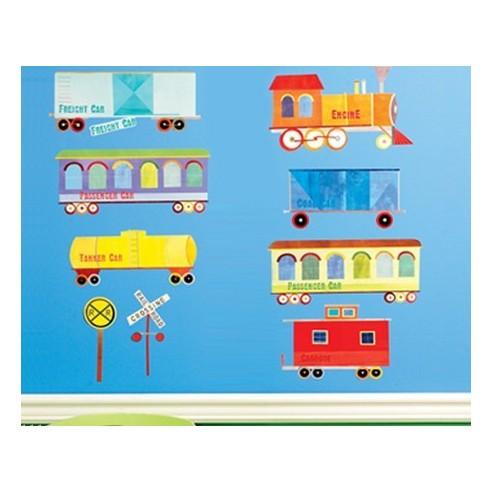 Trenulet - sticker copii