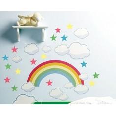 Curcubeu - sticker copii
