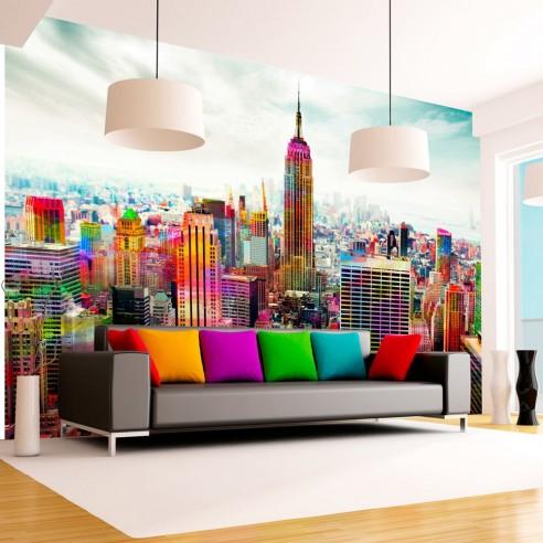 Fototapet  Colors of New York City