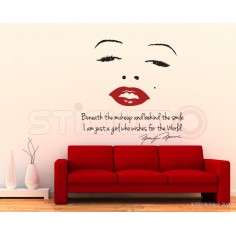 Marilyn Monroe - sticker...