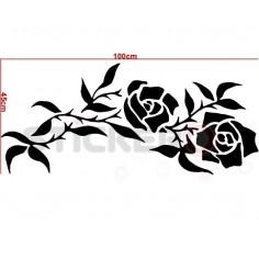 Sticker decorativ Chenar cu noduri