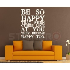 Be So Happy - sticker...