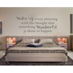 Wake Up - sticker decorativ...