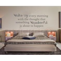 Wake Up - sticker decorativ...