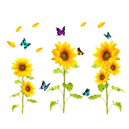 Sticker Floarea Soarelui