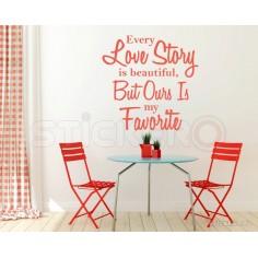 Love Story - sticker...