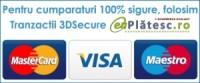 Plata securizata online cu cardul